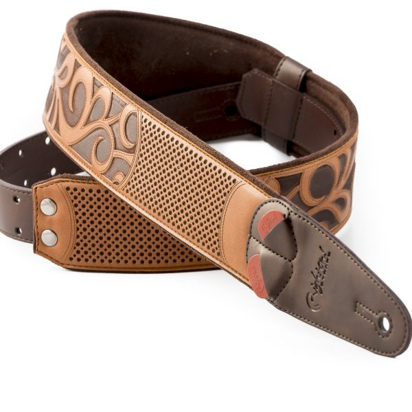 Right On! MOJO NASHVILLE vegan guitar strap woody