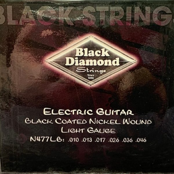 Black Diamond electric black coated nickel lights