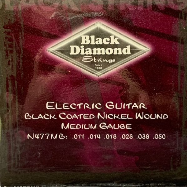 Black Diamond electric black coated nickel mediums