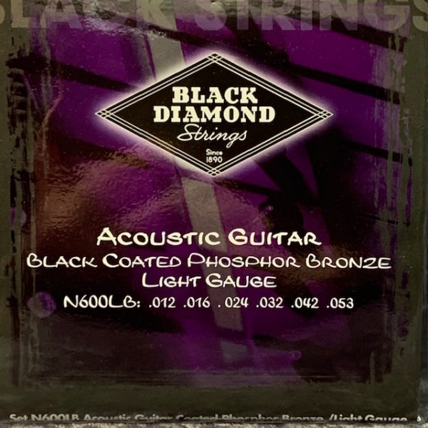 Black Diamond black coated phosphor acoustic lights