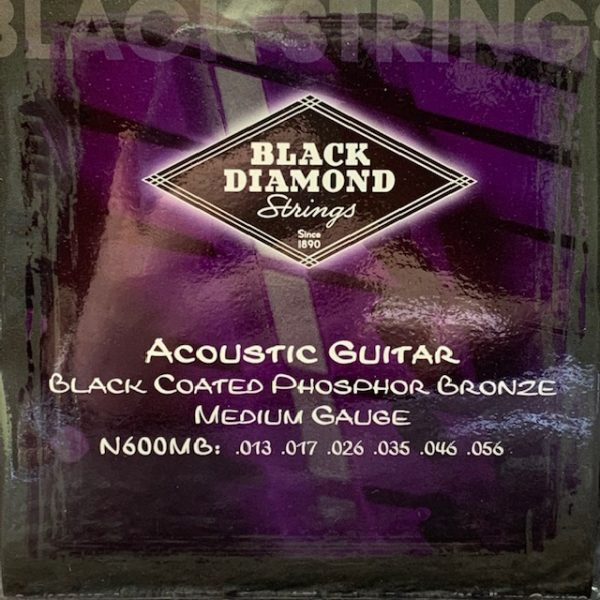 Black Diamond black coated phosphor acoustic mediums
