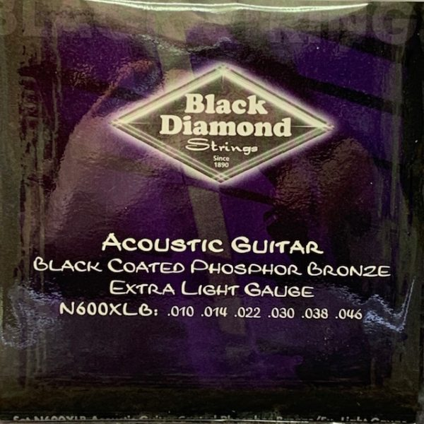 Black Diamond black coated phosphor acoustic extra lights