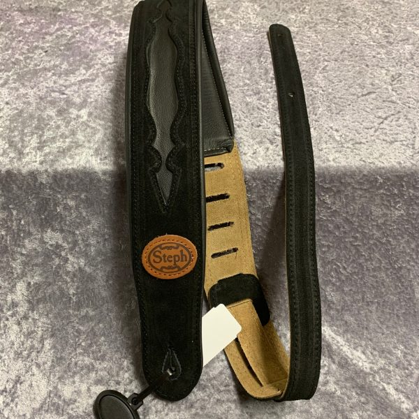Steph GT706 guitar strap black