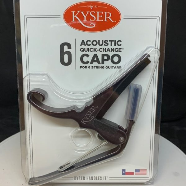Kyser Acoustic Capo Black Chrome