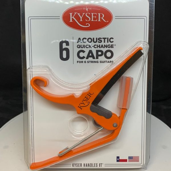 Kyser Acoustic Capo Orange Blaze