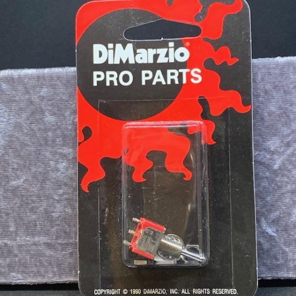 DiMarzio DPDT Mini Switch 3 Position on-off-on