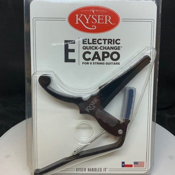 Kyser Electric Capo Black