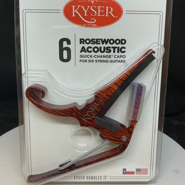 Kyser Acoustic Capo Rosewood
