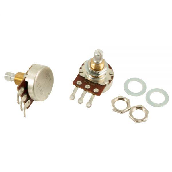 Bourns 250K Audio Taper Split Shaft Standard Bushing Potentiometer