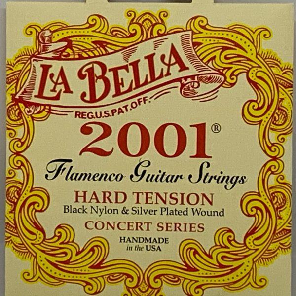 La Bella 2001 Flamenco Hard Tension (3 pack)