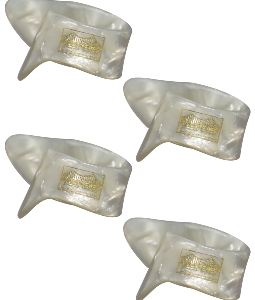Golden Gate GP-8-4PK Pearloid Thumb Picks – Large/Extra Thick – 4-Pack