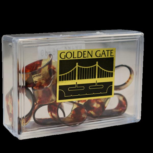 Golden Gate GP-9 Thumb Picks – Large -Tortoise – Dozen