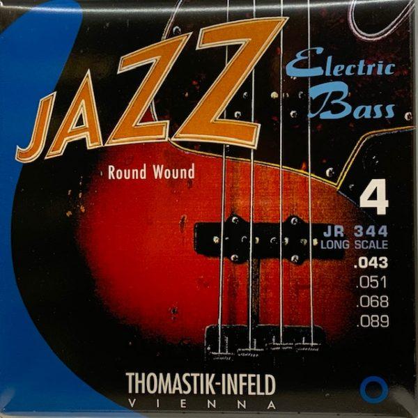 Thomastik JS112 Jazz-Saiten Satz für E-Gitarre Swing Serie .012-.050 Flat Wound
