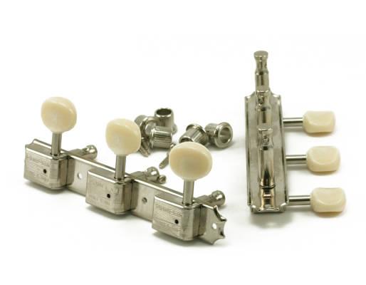 Kluson Supreme Nickel 3+3 Tuning Machines