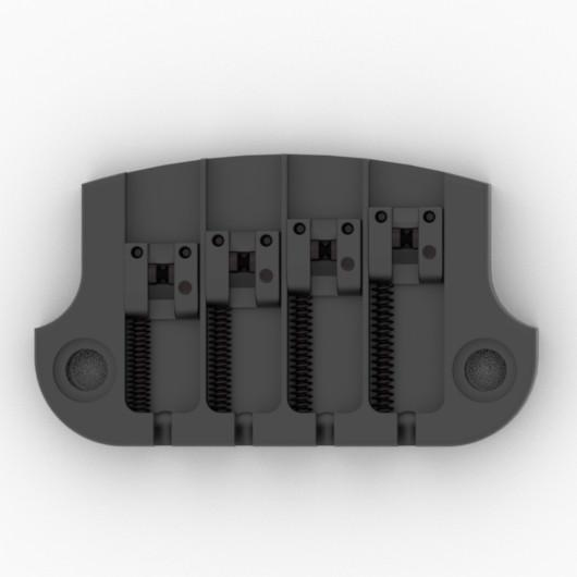 Hipshot 5G400B SuperTone Gibson® Bass Replacement Bridge Black