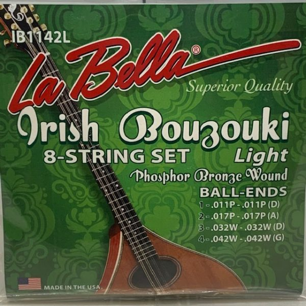 La Bella IB1142L Irish Bouzouki Strings