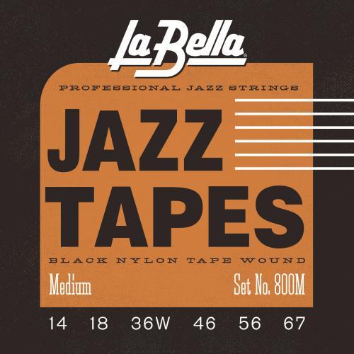 La Bella Jazz Tapes Medium
