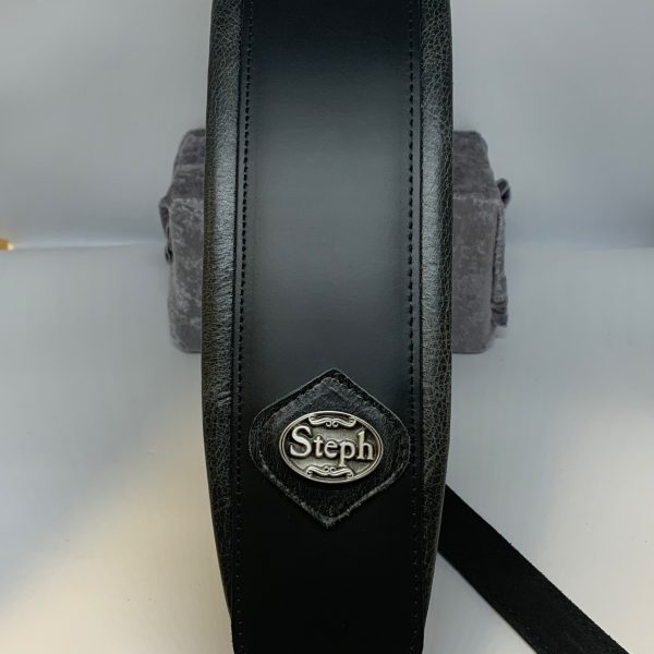Steph Accessories GT1026 Black padded guitar strap