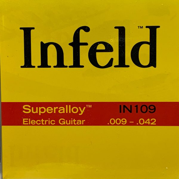Infeld IN109 Superalloy Electric Guitar Strings – Light (.009-.042)
