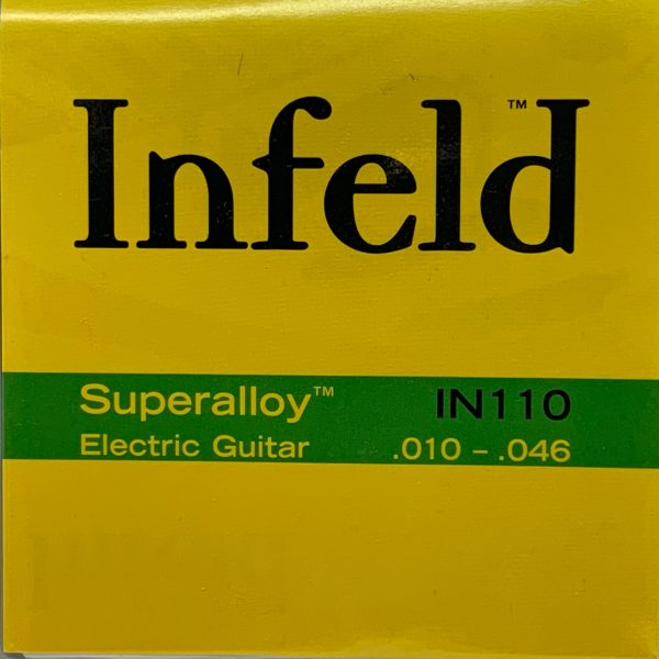 Infeld IN110 Superalloy Electric Guitar Strings – Medium-Light (.010-.046)