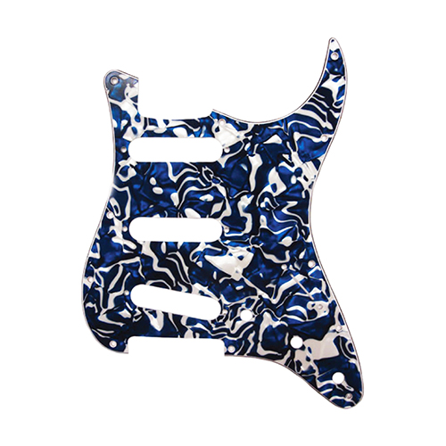Pickguard for Stratocaster Blue Swirl Pearl