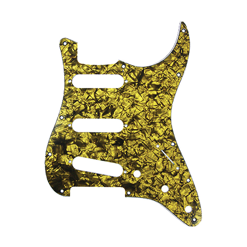 Pickguard for Stratocaster Gold Pearl
