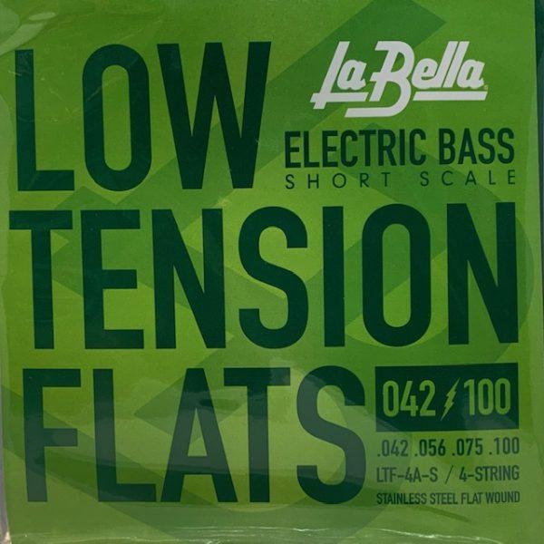La Bella Low Tension Flats Short Scale