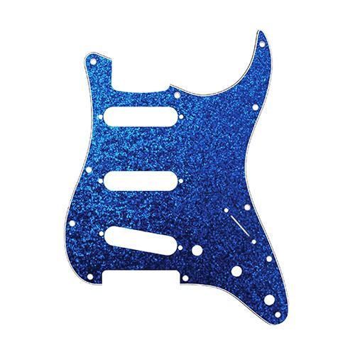 Pickguard for Stratocaster Blue Sparkle