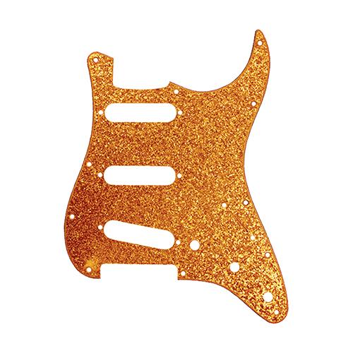 Pickguard for Stratocaster Gold Sparkle