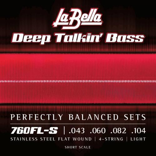 La Bella 760FL-S Light Short Scale .043-.104